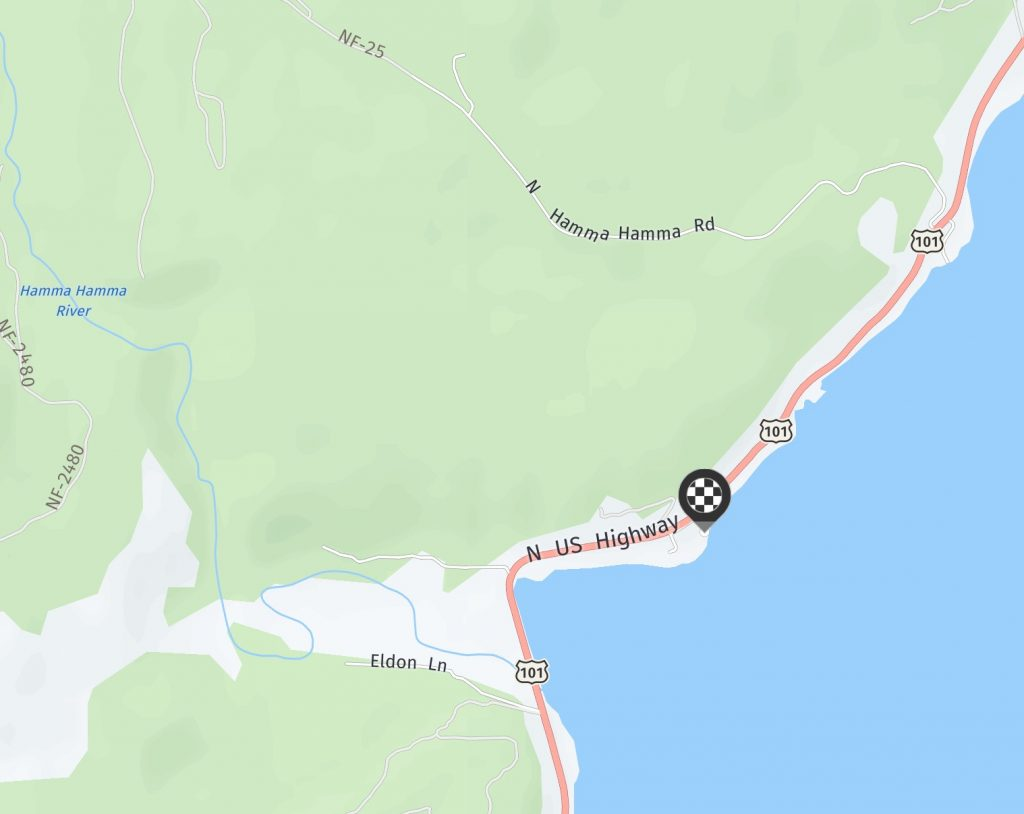 driving directions to Alice's Little Beach House in Hood Canal WA